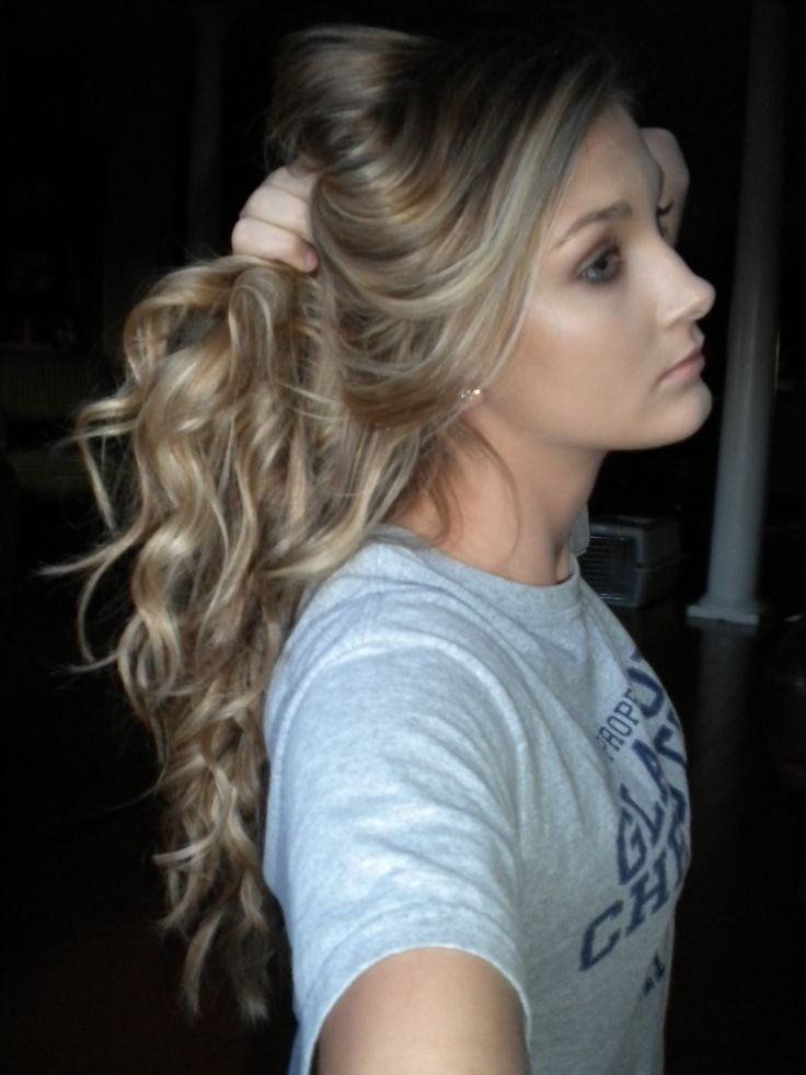 Curly Dirty Blonde Hair 120