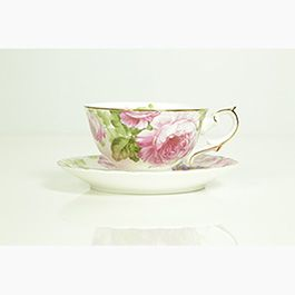 """The Bunbury Teacup and Saucer – $24.95 Spoil mum with this gorgeous McGrath Foundation Tea Cup. To commemorate the McGrath Foundation High Tea series, the foundation will release a teacup named after a community supported by a McGrath Breast Care Nurse each year. We're proud to name the first McGrath Foundation Signature Tea Cup """"Bunbury"""" in recognition of our McGrath Nurse based in Bunbury, Western Australia.  http://shoppink.mcgrathfoundation.com.au/prodetail.asp?proid=31338&tags[]=Living"""