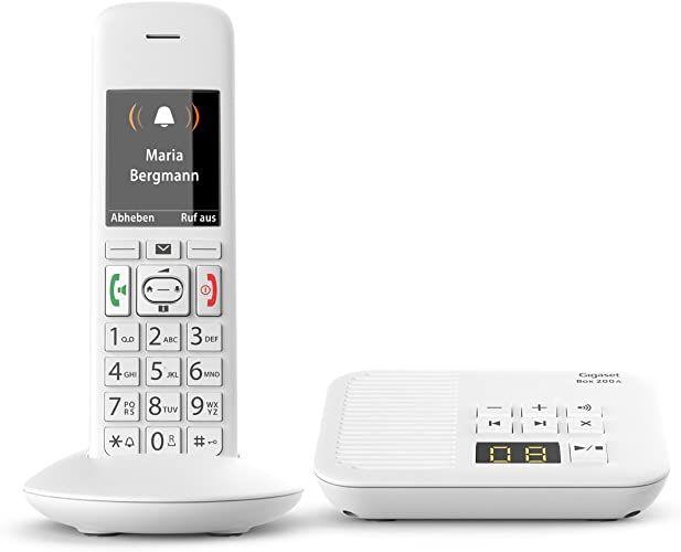 Im Test 2020 Gigaset E370a Schnurloses Telefon Fur Senioren Mit Anrufbeantworter Mit Grossen Tasten Und Sos Funktion Einf In 2020 Phone Electronic Products Electronics