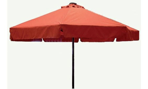 Gran parasol de jardin y terraza de Majestic Garden, de 3' 5 metros fabricada en poliéster.