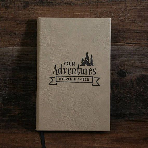 Personalized Leather Journal Adventure Journal Engraved