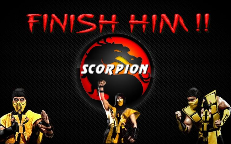 FINISH HIM: Scorpion (MK, MK II & UMK3/MKT)