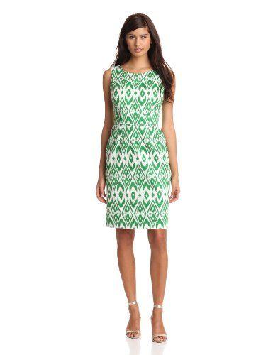Nine West Dresses Women's Ikat Print Dress « Clothing Impulse