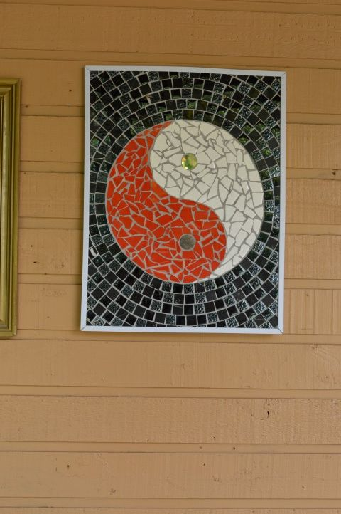 One of our clever volunteers felt a bit of yingyang was called for.