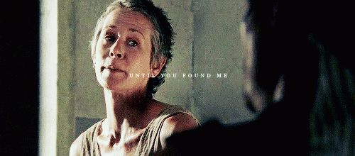 Pin for Later: 22 Times You Wanted Daryl and Carol to Be a Thing So Badly When You Just KNEW They Were Meant to Be