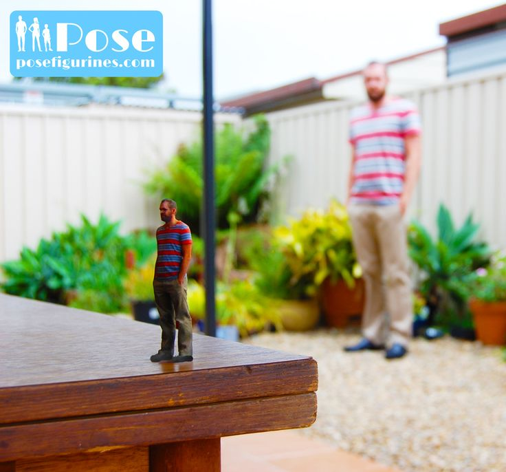 Get an identical 3D printed full-body figurine of yourself today!