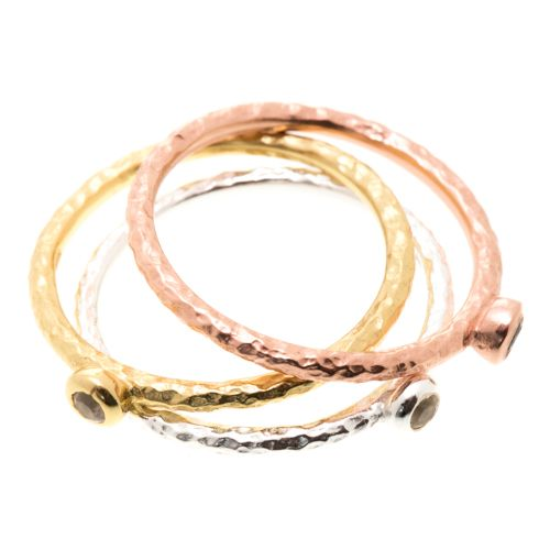 Lily stacking Rings ($50 each) www.toriandtaz.com