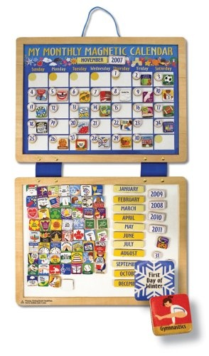 #Melissa & Doug Deluxe #Magnetic #Calendar: Delux Magnets, Kids Stuff, Gifts Ideas, Magnets Boards, Education Toys, Magnets Calendar, Doug Delux, Doug Magnets, Melissa D'Arabian