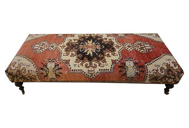 Antique Rug Ottoman I On Onekingslane Com Lovely