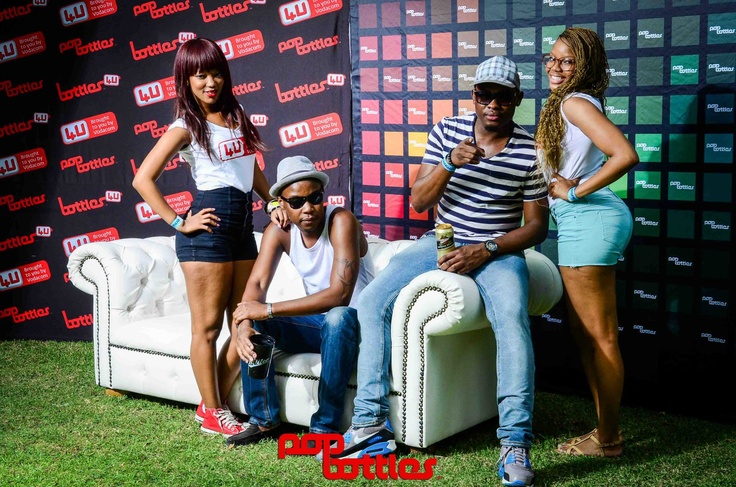 @PopBottles photo booth with Thato