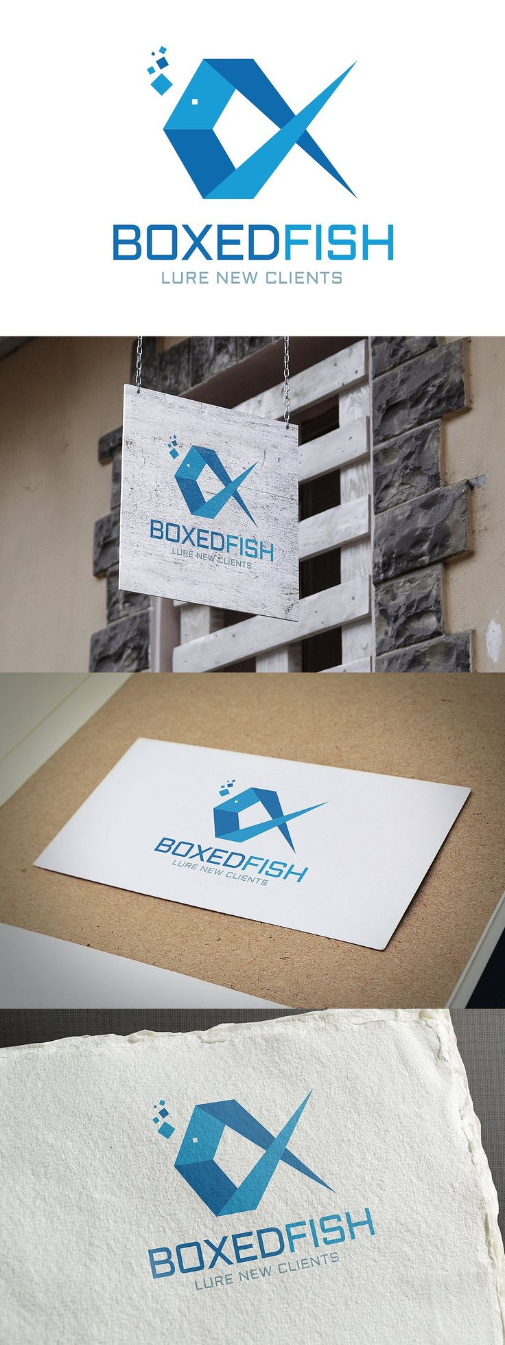 Fish Logo Design Template AI