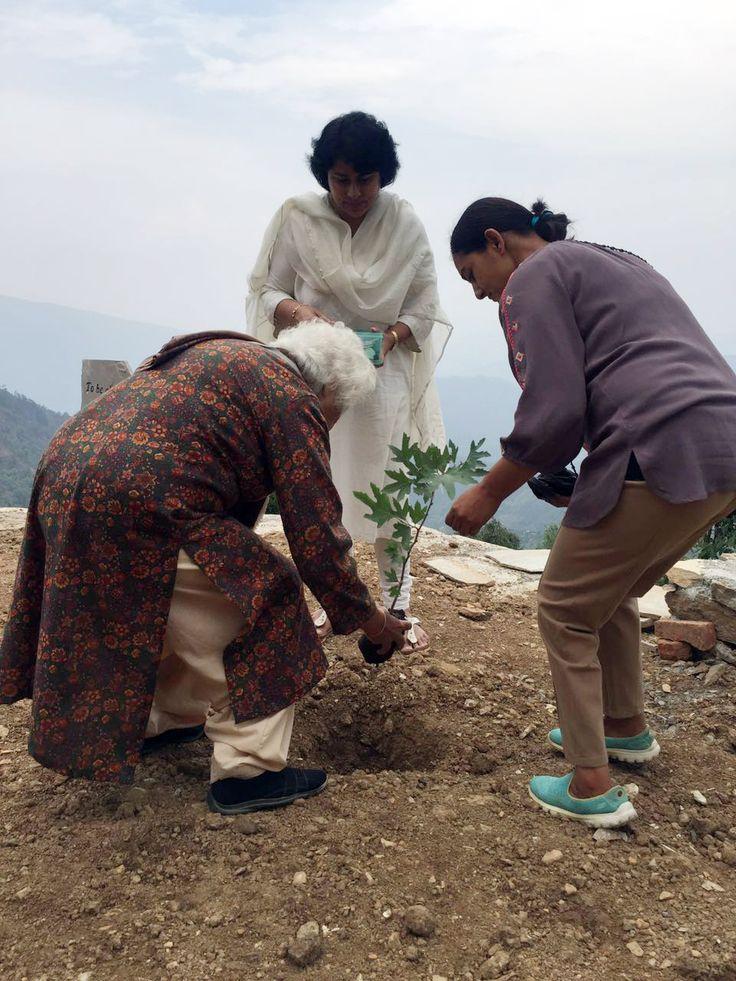 1st Anniversary celebration June 2016; Activity: Tree Planting