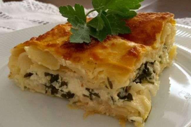 Lazanya'dan kolay su böreği tarifi