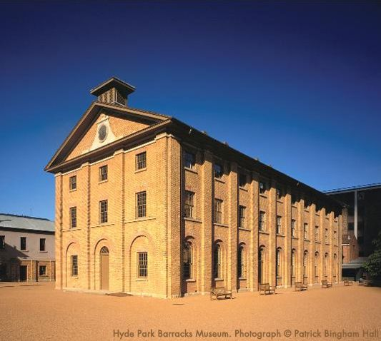 Hyde Park Barracks Museum. Queens Square, Macquarie Street, Sydney. Open daily 10am - 5pm. General $10, Concession*/Child $5, Family $20**