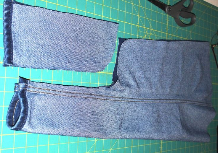 "denim apron pattern | FREE Recycled Denim Tutorial- The ""All-Leg"" Denim Apron!"