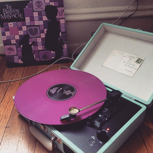 1, 2, 3, 4, underneath the cellar floor... The Birthday Massacre - Violet special edition vinyl #thebirthdaymassacre #tbm