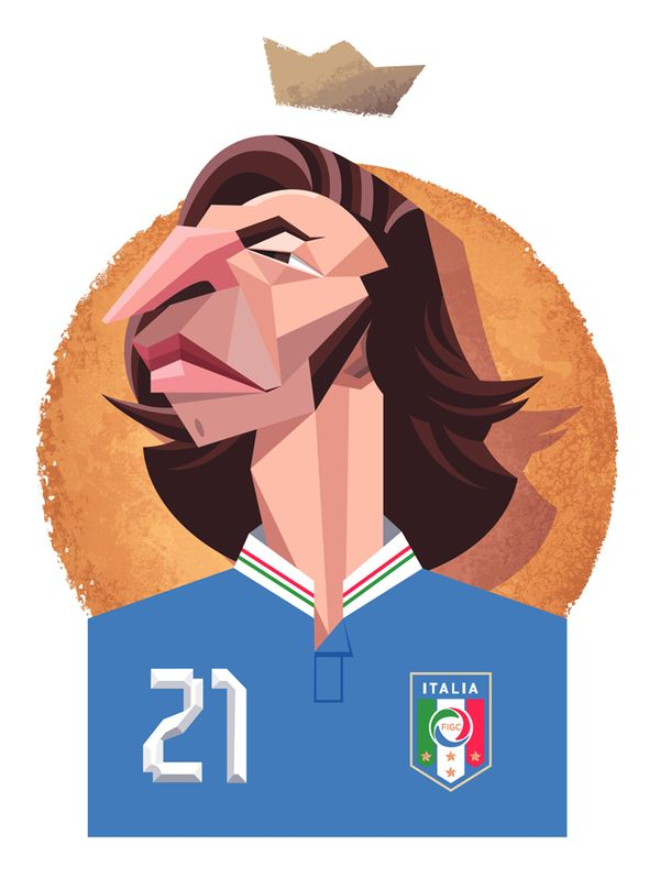 #Futbol Modern Legends by Daniel Nyari, via Behance