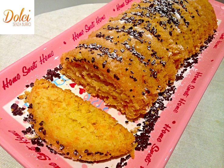 Torta di Carote Vegana allo Zenzero - Dolci Senza Burro