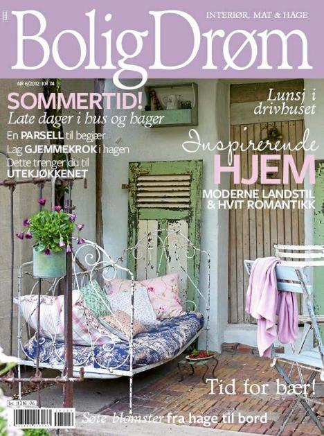 Cover av BoligDrøm nr 6 / 2012