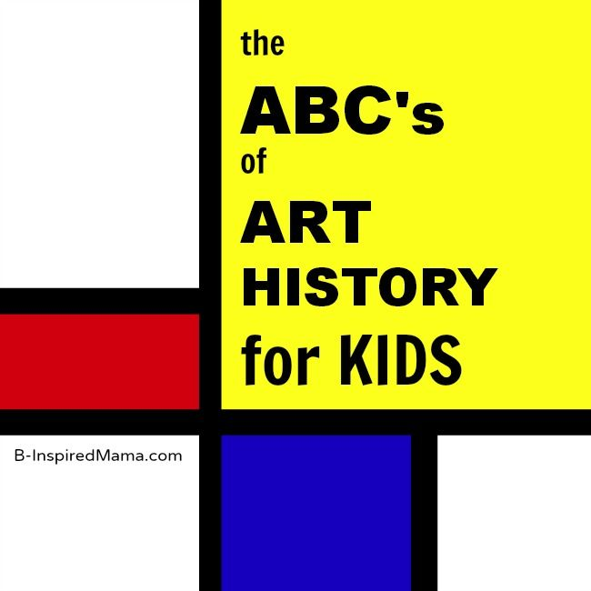 The ABC's of art history for kids