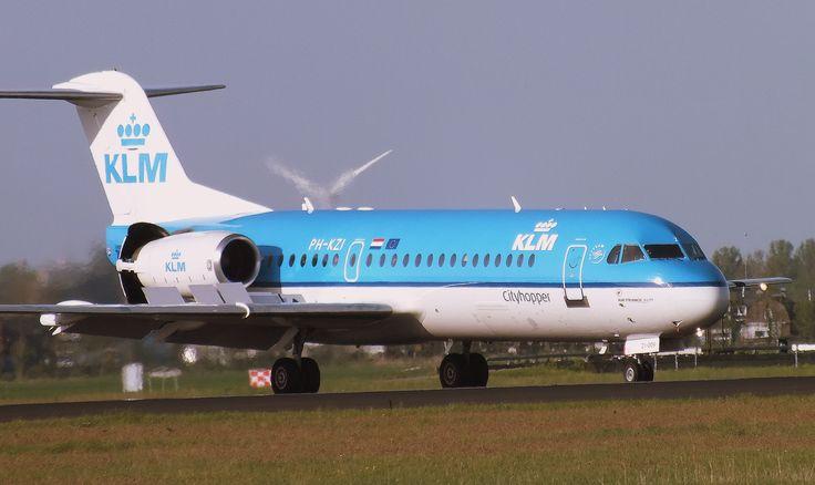 KLM City Hopper Fokker 70