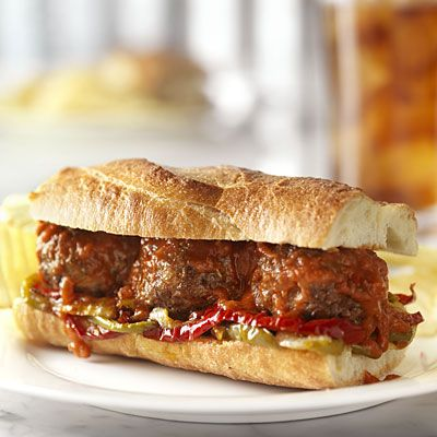 Meatball Sandwiches - Recipes With Ground Beef - Health Mobile