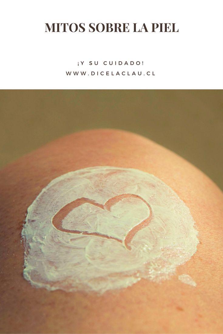 Existen diversos mitos sobre el cuidado de la piel, acá veremos los más comunes!