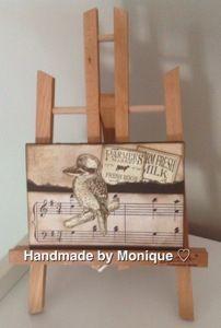 Kookaburra using Kaszazz. http://handmadebymonique.wordpress.com/