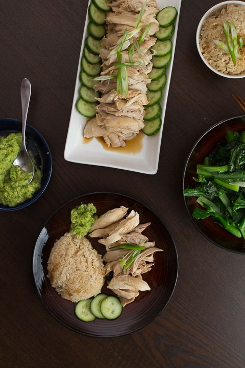 Still riding on his success with the St. Louis style ribs , Wes decides that he wants to attempt the unknown: Hainan chicken in the Insta...