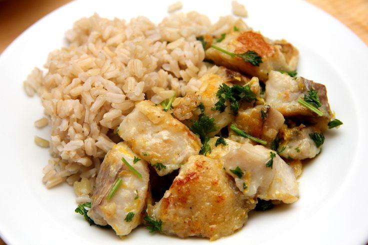 Citromos-vajas sült hal recept: Nagyon finom, és nagyon gyorsan elkészíthető halétel! Szálkamentes, ízletes, gyors! Mi kellhet még? A karácsonyi asztalon a helye! :)