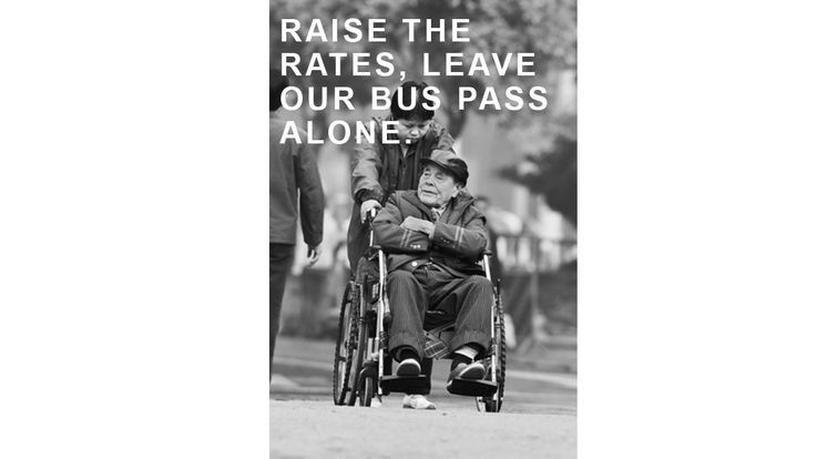 We want Premier Christy Clark and Minister Michelle Stilwell to raise the rates and leave our bus pass alone!     Bring back the $45 per yearbus pass for people with disabilities.   Eliminate the new $52/month bus pass fee.   Let everyone receiving PWD benefits keepthe $77/month increase.   Raise...