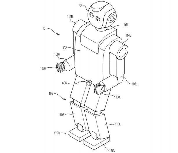 Breathing Robot With Perfect Posture Patented by Samsung