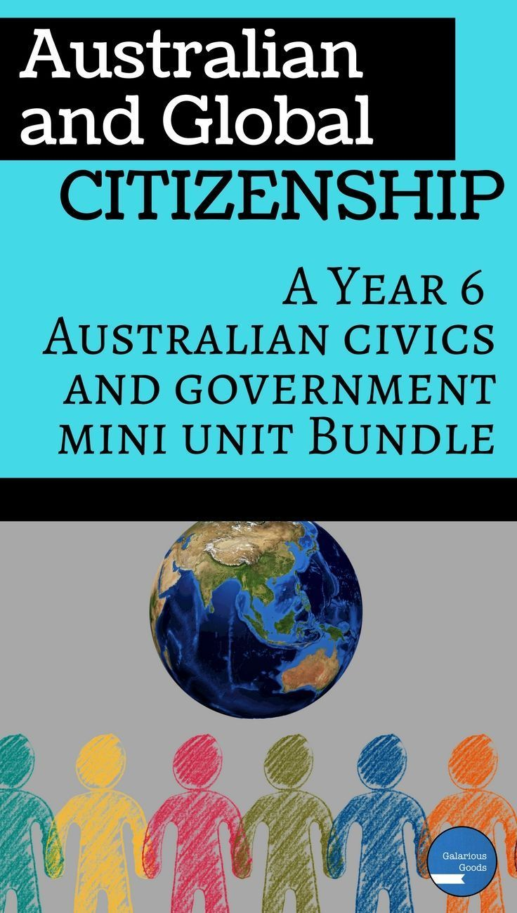 Year 6 Australian Government teaching resources for Australian and Global Citizenship in the HASS classroom. Includes teaching activities, interactive notebook activities, assessment tasks and marking rubrics. Aligns with the Australian curriculum