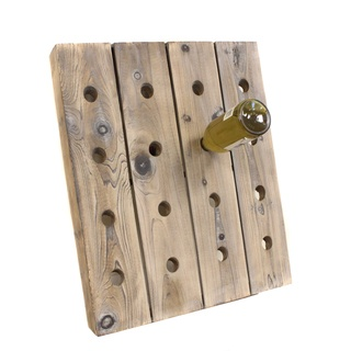 @Overstock - Mixing rustic wood and contemporary design, this French style wine rack brings a new meaning to the art of entertaining. This rustic bottle holder can safely store as many as 16 wine ----- Looks like a DIY project bottles.http://www.overstock.com/Home-Garden/French-Style-16-bottle-Wine-Riddling-Rack-Holder/7423951/product.html?CID=214117 $79.99