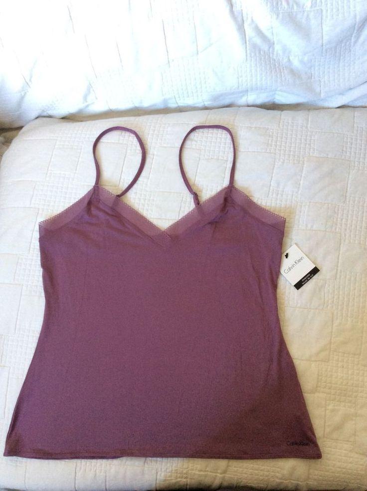 CK CALVIN KLEIN LUXURY FEEL ladies Sleepwear M BNWT RRP£28