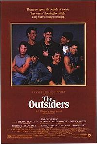 C. Thomas Howell, Rob Lowe, Emilio Estevez, Matt Dillon, Tom Cruise, Patrick Swayze, Ralph Macchio, and Diane Lane.