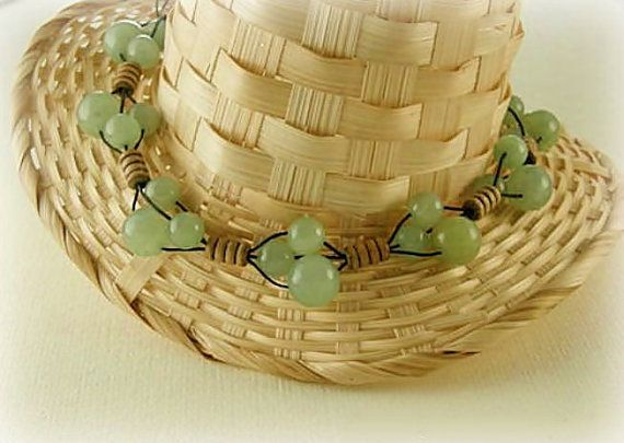 green jade necklace jade jewelry green jade gems by styledonna