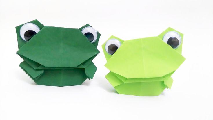 Żabka Naparstek Origami
