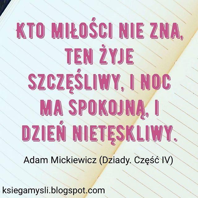 #cytat #cytaty #polska #polski #poland #polish #polishgirl #polishboy #miłość #wtorek #książka #książki