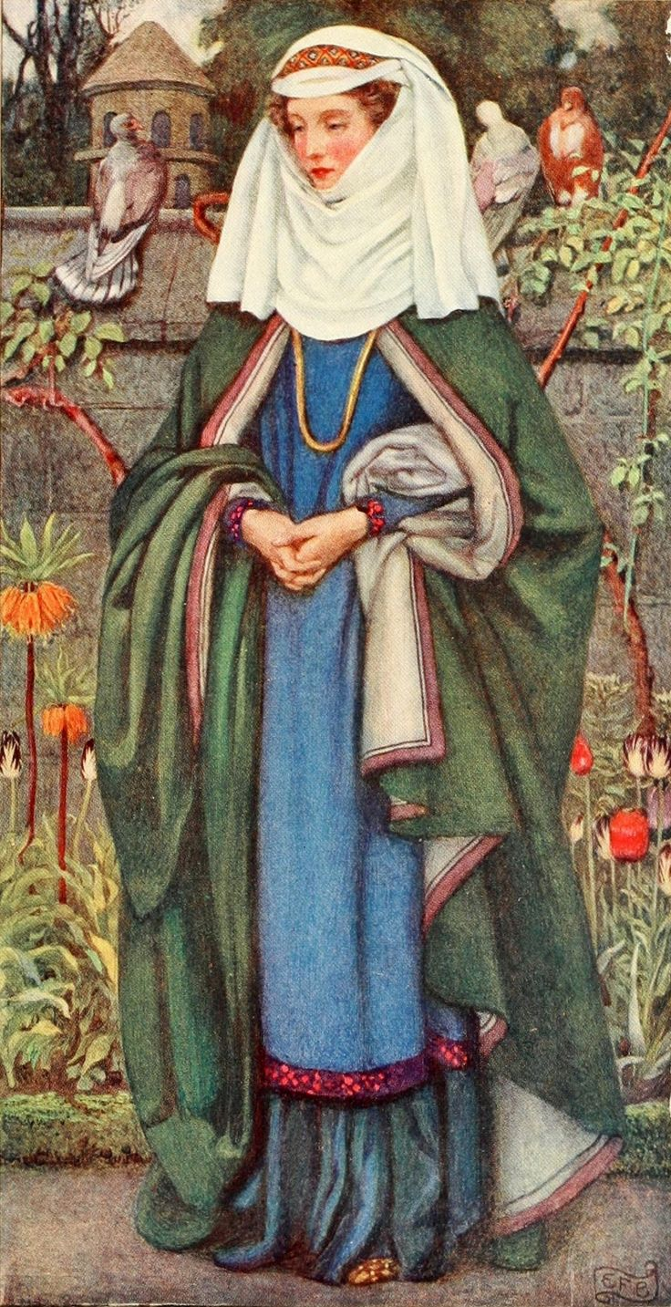 Eleanor Fortescue-Brickdale ~ Enid ~Idylls of the Kingby Alfred Lord Tennyson ~ 1913 ~ via Illustration for Enid