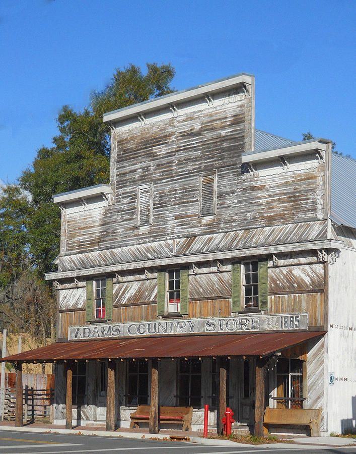 Old Country Store Photograph by Judy Hall-Folde - Old Country Store ...