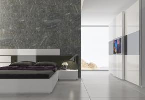 Efes Yatak Odası.. Gardırobundaki TV detayı ile sizleri konforun doruklarında yaşatıyor.. #macitler #modoko #masko #mobilya #tasarım #design #designer