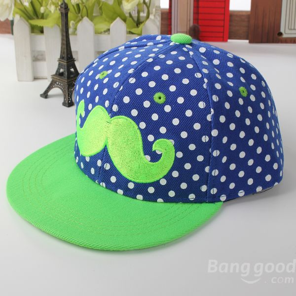 Baby Children Canvas Beard Hat Hip-hop Baseball Cap at Banggood