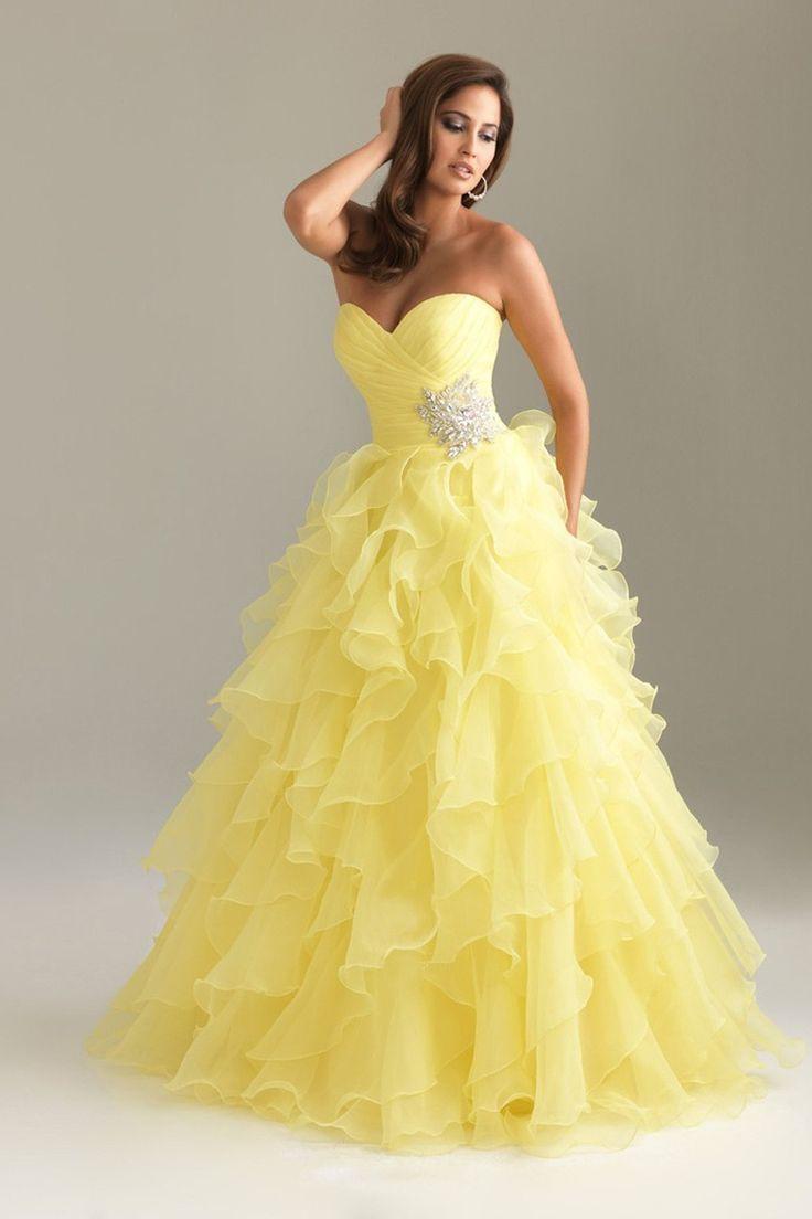 Yellow dresses online uk stores