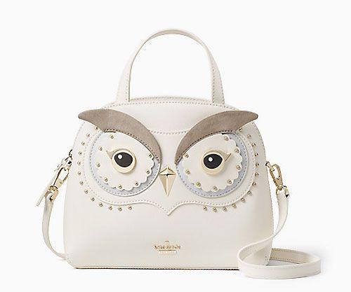 d93abfcb1a3c My Owl Barn: Kate Spade AW17 Snowy Owl Collection   Fashion   Owl ...