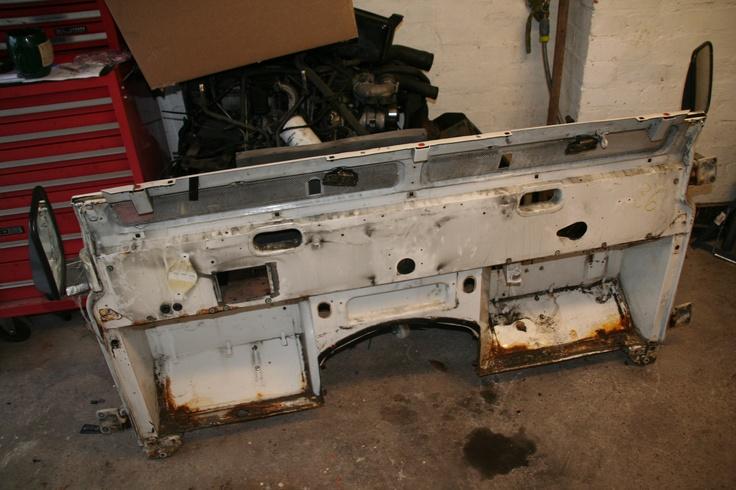 Old bulkhead