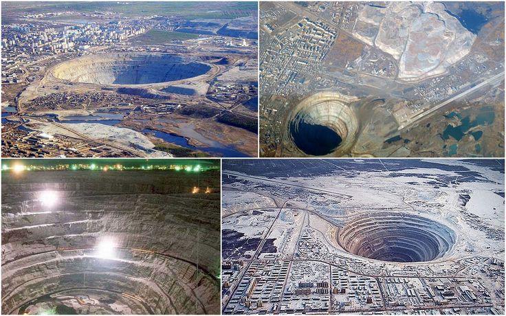 Minrya mina diamantes rusia