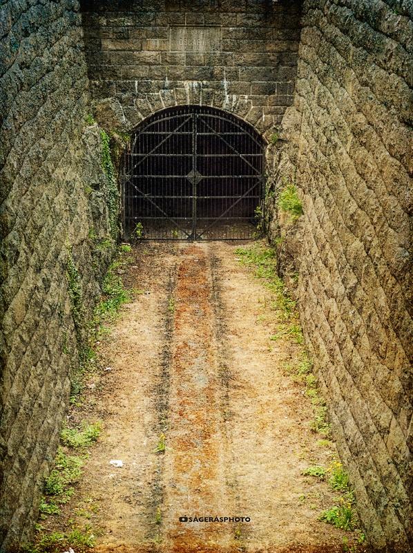 The tunnel. Karlskrona, Sweden.