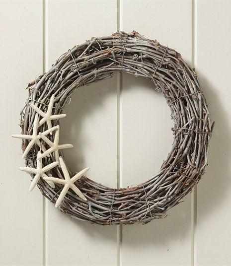 L.L. Bean Driftwood Starfish Wreath