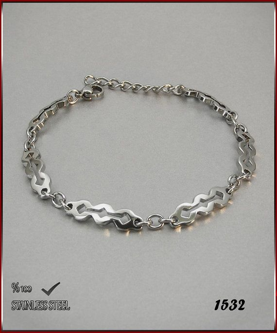 Axcesi 1532  Stainless steel chain bracelet thickness 6 by Axcesi